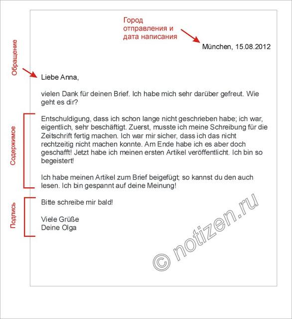 Образец экзамена по немецкому в1